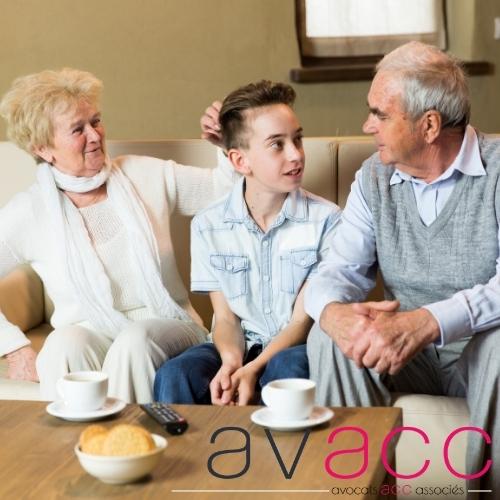 Le droit de visite des grands parents